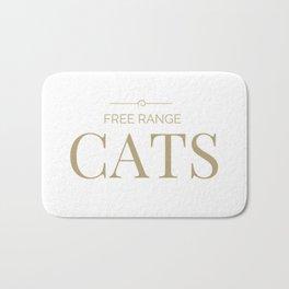 Free Range Cats Bath Mat