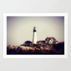 Lighthouse 3 Art Print