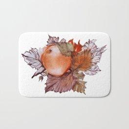 Apple among Foliage Bath Mat