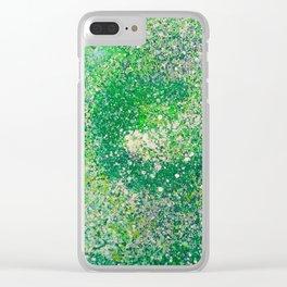 clorofila gaseosa / chlorophyll gas Clear iPhone Case