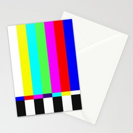 color tv Stationery Cards
