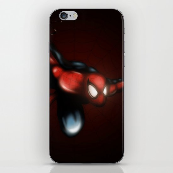 Spider Man iPhone Skin