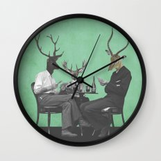 Just Playin Wall Clock