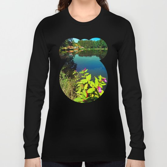 End of summer at the pond Long Sleeve T-shirt