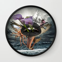 Behind and Beyond Wall Clock
