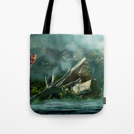 the high flyer Tote Bag