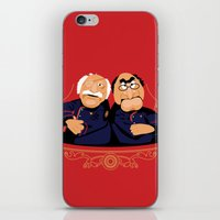 battlestar iPhone & iPod Skins featuring Frakking Awful by Matt Dearden