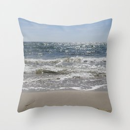 Sparkling Sea Throw Pillow