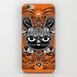 Day Of The Dead Bunny Celebration iPhone Skin