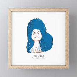 Saraghina (Fellini movie) Framed Mini Art Print
