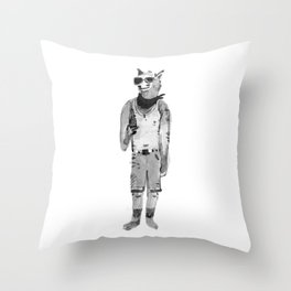 Have a drink! Throw Pillow