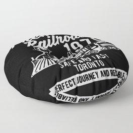 authentic premium railroad Floor Pillow