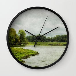 Sauvie Island Wall Clock