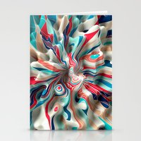 weird Stationery Cards featuring Weird Surface by Danny Ivan