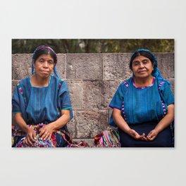 Dos Mujeres Canvas Print