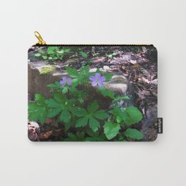 Flowers by the Falls Carry-All Pouch