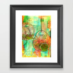 Garden Delights Framed Art Print