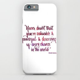 Never doubt pink iPhone Case