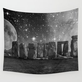 The Other Side of Stonehenge Wall Tapestry