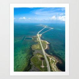 Road to Bahia Art Print
