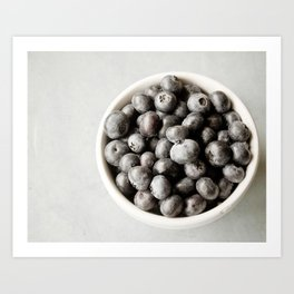 Blueberry Hill Art Print