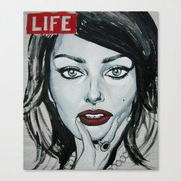 Sophia Life Canvas Print