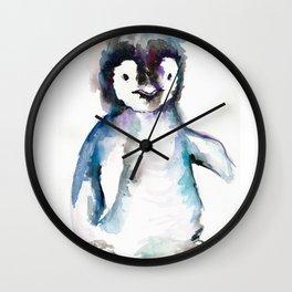 HAPPY PENGUIN Wall Clock