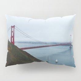 Foggy Golden Gate Bridge - San Francisco, CA Pillow Sham