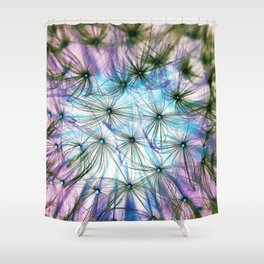 Lashes Shower Curtain
