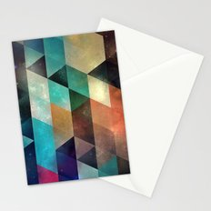 syy pyy syy Stationery Cards