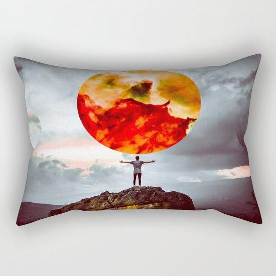 world of possibilities Rectangular Pillow