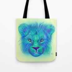Oscar - Lion Painting Tote Bag