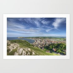 Great Orme View Art Print