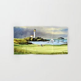 Turnberry Golf Course Scotland 10th Green Hand & Bath Towel
