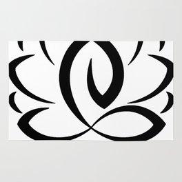 Lotus Pose Art Rug