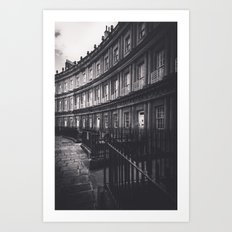 Bath Spa Streets Art Print