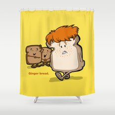 Ginger Bread Shower Curtain