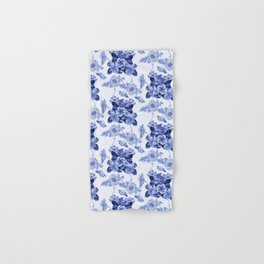 Blue Botanical Toile Hand & Bath Towel
