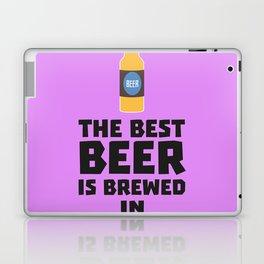Best Beer is brewed in August Bw06j Laptop & iPad Skin