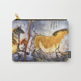 Lascaux Cave Horses I Carry-All Pouch