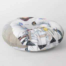 Neil Armstrong Floor Pillow