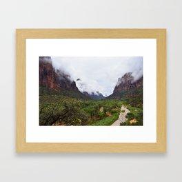 Zion 2 Framed Art Print