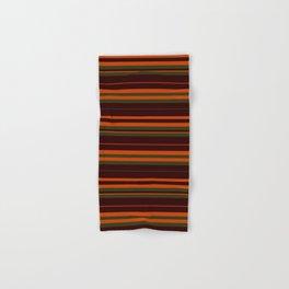 Pattern Bandes Colors Marron/Orange Hand & Bath Towel