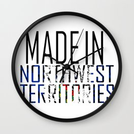 Made in Northwest Territories Wall Clock