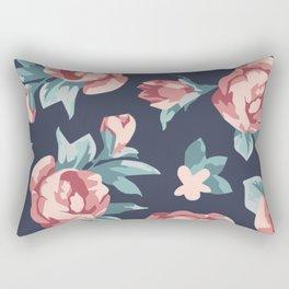 Vitage Roses Rectangular Pillow