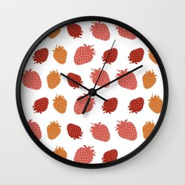 Very Strawberry Wall Clock