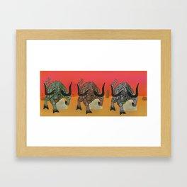 Gorgons Framed Art Print
