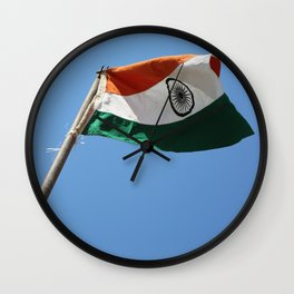 The Flag of India Wall Clock