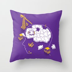 Memory Site Throw Pillow