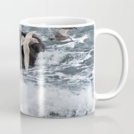 Gulls shop for Dinner Coffee Mug